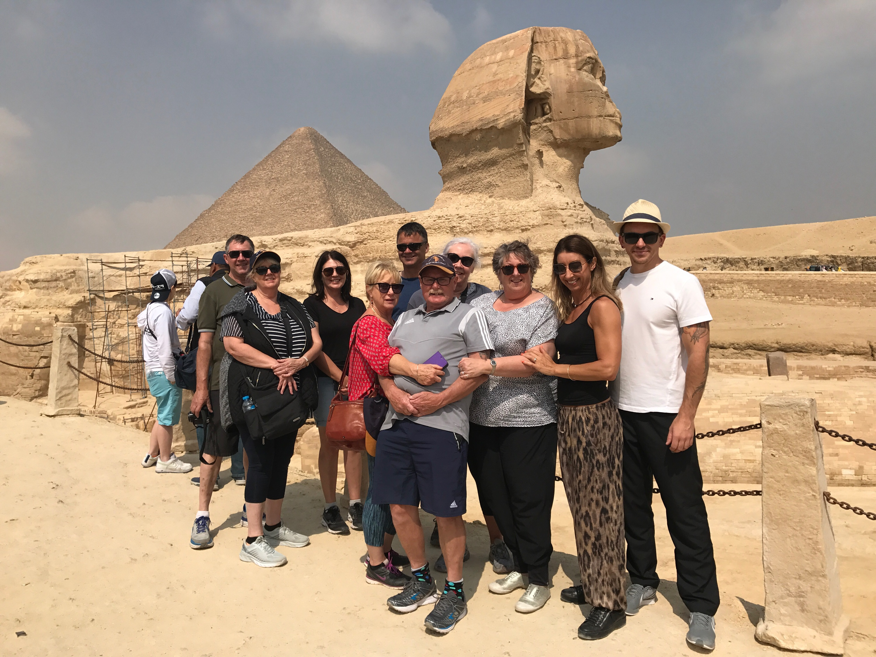 Kathy Granger Group in Cairo